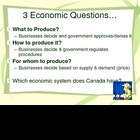 Canada's Economy  & Economic Systems Review