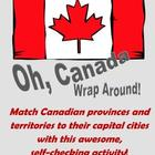 Canadian Capitals Wrap Around (pre-made)
