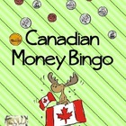 Canadian Money Bingo Game