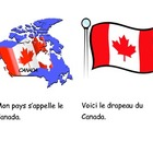 Canadian Symbols Printable Book - BC Version - FRENCH