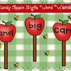 Candy Apple SIght Word Wands: Pre-Primer