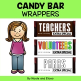 FREE SURPRISE #6 FOR FOLLOWERS - Candy Bar Wrappers (Engli