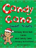 Candy Cane Sweet Treats Literacy Activity Pack
