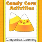 Candy Corn Activities - Fall / Halloween Learning Centers