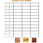 Candy Corn Graph for Halloween