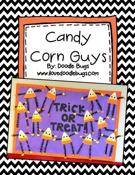 Candy Corn Guy Craftivity - Art Project - Craft Project FR