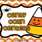 Candy Corn Literacy & Math Centers