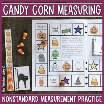 Candy Corn Measuring {A Halloween Mini Unit!}