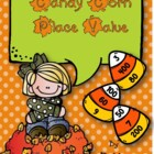 Candy Corn Place Value in Color