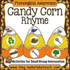 Candy Corn Rhyme Matching