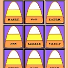 Candy Corn Synonym Activity
