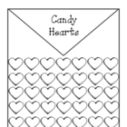 Candy Heart Math for Valentine's Day