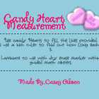 Candy Heart Measurement