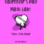 Candy Hearts Valentine's Day Math Lab - Grades 3 - 5