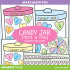 Subtraction Game - Candy Jar - Print and Play