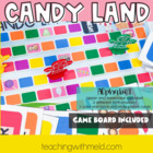Candy Land Alphabet Game