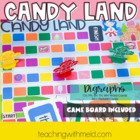 Candy Land Digraph Game