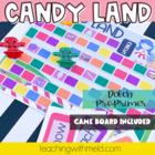 Candy Land Dolch Pre-Primer Sight Word Game