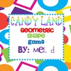 Candy Land Geometric Shape Game