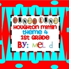 Candy Land Houghton Mifflin Theme 4-Grade 1