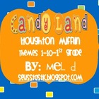 Candy Land Houghton Mifflin-Themes 1-10/Grade 1