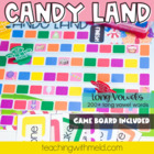 Candy Land Long Vowel Game