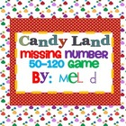 Candy Land Missing Number 50-120 Game (Common Core)