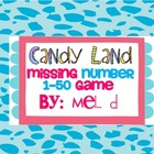 Candy Land Missing Number Game (1-50)