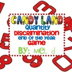 Candy Land Quantity Discrimination EOY Game