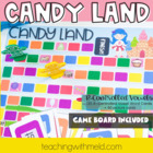 Candy Land R-Controlled Vowel Game