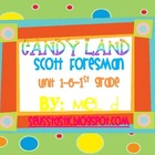 Candy Land Scott Foresman (Reading Street) Unit 1-5 Bundle