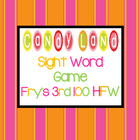 Candy Land Sight Word Game-Fry's 3rd 100 HFW
