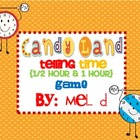 Candy Land Telling Time Game