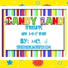 Candy Land Treasures Unit 1-6/Grade 1 Bundle