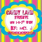 Candy Land Treasures Unit 1-6/Grade 2 Bundle