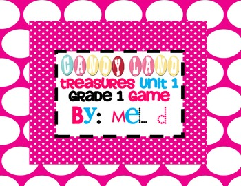 Candy Land Treasures Unit 1-Grade 1