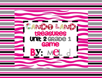 Candy Land Treasures Unit 2-Grade 1