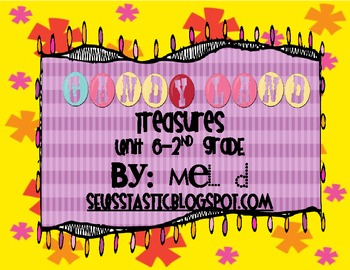 Candy Land Treasures-Unit 6-Grade 2
