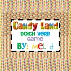 Candy Land Verb Game
