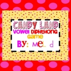 Candy Land Vowel Diphthong Game