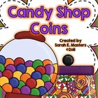 Candy Shop Coins - Money Math Center - Money Workstation