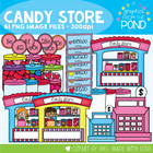Candy Store - Sweet and Fun Clipart and Graphics