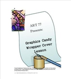 Candy Wrapper Graphic Cover Lesson