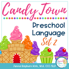 CandyLand Preschool Language TWO: Speech Therapy