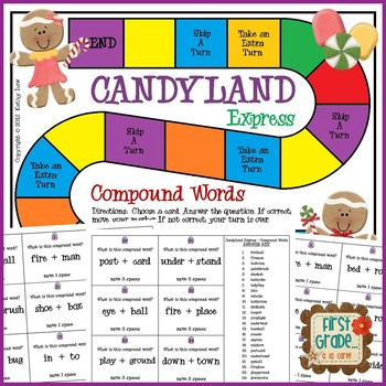 Candyland Express-Compound Words