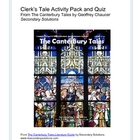 Canterbury Tales: Clerk's Tale Activity Pack, Quiz, Summary