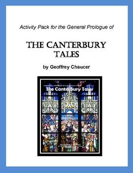 Canterbury Tales General Prologue Activity/Lesson Pack