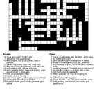 Canterbury Tales Pilgrims and Descriptions Crossword & Wor