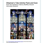 Canterbury Tales: Shipman's Tale Activity Pack, Quiz, Summary