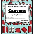 Canyons: A Book Test & Key created by Jean Martin